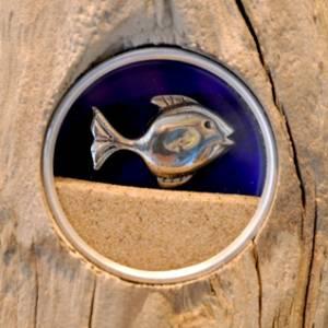 Sable, bois de mer et pierre de côte